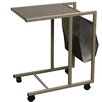 ORE Furniture Marble Print Laptop Cart