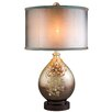 "ORE Furniture Sapphire Rose 30"" H Table Lamp with Drum Shade"