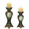 ORE Furniture 2 Piece Votive Candle Holder Set