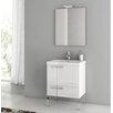 """ACF Bathroom Vanities New Space 22"""" Single Bathroom Vanity Set with Mirror"""