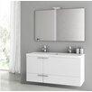 """ACF Bathroom Vanities New Space 47"""" Bathroom Vanity Set"""