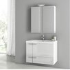 "ACF Bathroom Vanities New Space 31"" Single Bathroom Vanity Set"