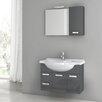 "ACF Bathroom Vanities Phinex 32"" Single Bathroom Vanity Set with Mirror"