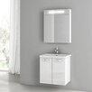 """ACF Bathroom Vanities City Play 22"""" Vanity Set with Single Sink"""