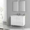 "<strong>ACF Bathroom Vanities</strong> New York 32"" Bathroom Vanity Set"