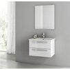 "ACF Bathroom Vanities Dadila 24"" Single Bathroom Vanity Set with Mirror"