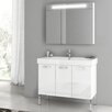 """ACF Bathroom Vanities Cubical 37"""" Vanity Set with Single Sink"""