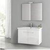 """ACF Bathroom Vanities New York 32"""" Bathroom Vanity Set with Single Sink"""