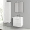 "ACF Bathroom Vanities New York 22"" Single Bathroom Vanity Set with Mirror"