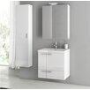 """ACF Bathroom Vanities New Space 23"""" Bathroom Vanity Set with Single Sink"""