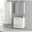 "ACF Bathroom Vanities New Space 23"" Single Bathroom Vanity Set"