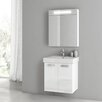 "ACF Bathroom Vanities Cubical 22"" Single Bathroom Vanity Set"
