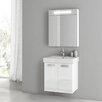 """ACF Bathroom Vanities Cubical 22"""" Vanity Set"""