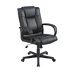 <strong>Furniture Design Group</strong> Encore Mid-Back Executive Office Chair with Arms