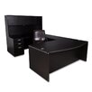 Furniture Design Group Nassau Executive Desk with Hutch