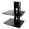 Mount-it Dual Glass DVD/DVR/Component Wall Mount Shelf