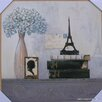 <strong>Paris Momento Print with Frame</strong> by Carlini Designs