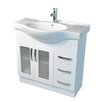 <strong>Antonio 90cm Semi Recessed Vanity</strong> by Kander