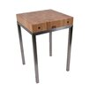 John Boos Metropolitan Designer Butcher Block Table