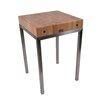John Boos Metropolitan Designer Butcher Block Table