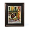 Art Effects Paulette's Café by Keith Wicks Framed Painting Print
