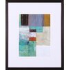 Art Effects Cosmopolitan Abstract II by W. Green-Aldridge Framed Graphic Art