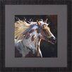 <strong>Art Effects</strong> Spirit Horse and Wind Voyager by Carolyne Hawley Framed Painting Print