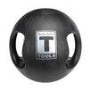 Body Solid 10 lbs Dual Grip Medicine Balls in Black