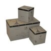 <strong>Square Eiffel Box (Set of 3)</strong> by Emporium Oggetti