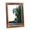 <strong>Dark Corners Wooden Frame Mirror</strong> by White Angel