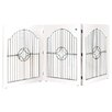 Majestic Pet Products Universal Freestanding Wood and Wire Pet Gate