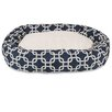 Majestic Pet Products Links Sherpa Bagel Dog Bed