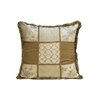 <strong>Melrose Home</strong> Valerie Square Fringe Pillow