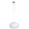 <strong>Fungo 28 cm Two Light Pendant in White Glass</strong> by V & M Imports