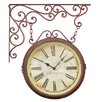<strong>Pomegranate Clock with Iron Bracket</strong> by Elegant Designs