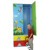 <strong>Sunny Safari 2 Drawer Wardrobe</strong> by Teamson Design Corp.
