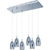 ET2 Bullet 6 Light Kitchen Island Pendant