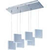 ET2 Brick 6 Light Kitchen Island Pendant