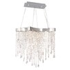 ET2 Crystal Sensation LED 10-Light Pendant