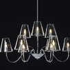 <strong>ET2</strong> Chic 9 Light Chandelier