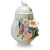 <strong>Franz Collection</strong> Fluttering Beauty Flower and Butterfly Sugar Jar
