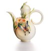 <strong>Franz Collection</strong> Fluttering Beauty Flower and Butterfly Teapot