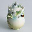 Franz Collection Ladybug Sugar Jar