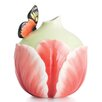 Franz Collection Butterfly Tulip Vase