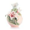 <strong>Abundance and Prosperity Lily Vase</strong> by Franz Collection