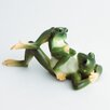 <strong>Franz Collection</strong> Amphibia Frog Father and Son Figurine