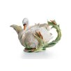 <strong>Franz Collection</strong> Swan Lake 3-qt. Porcelain Teapot