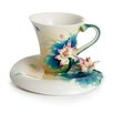 Peaceful Lotus Cup and Saucer
