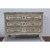Stubeker French Side Table in Distressed White