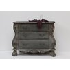 Stubeker French Drawers Chest in Grey